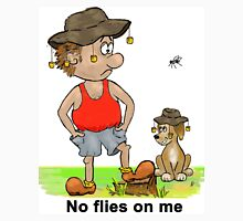 No Flies on Me Men's Baseball ¾ T-Shirt
