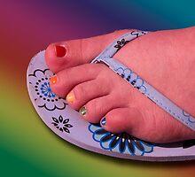 Rainbow Toes by Gail Bridger