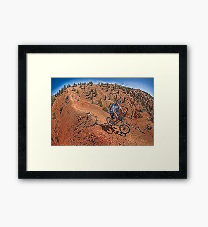 Thunder Mountain, Utah Framed Print
