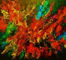 EXPLOSION OF COLOUR by John Cocoris