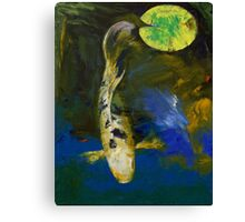 Bekko Butterfly Koi Canvas Print