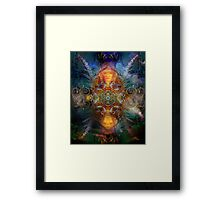 Coyote Dance  Framed Print