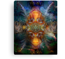 Coyote Dance  Canvas Print
