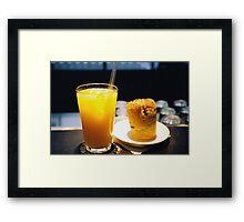 No Fuss Breakfast  Framed Print