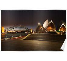 opera - opera house, sydney Poster