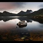 Dove Lake Dawn Pan by Robert Mullner