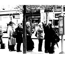 More Bus Stop Boredom Photographic Print