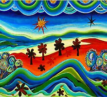 Our World in Acrylic by Sarah J. R. Morrow