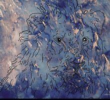 sd Sketch of Lion's Head 2C by sdavis by mandalafractal