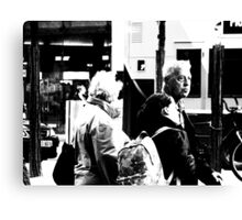 Neither Buses nor Taxis.... Canvas Print