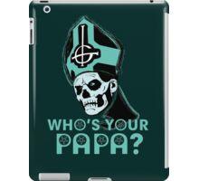 WHO'S YOUR PAPA? - ocean iPad Case/Skin