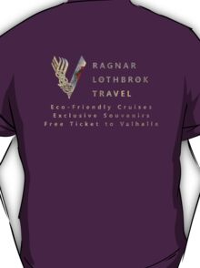Ragnar Lothbrok Travel T-Shirt