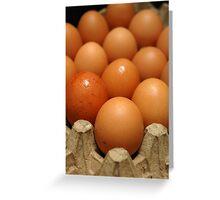 egg Greeting Card