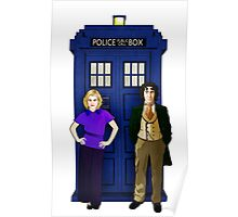 The 8th Doctor and Charley Poster