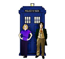 The 8th Doctor and Charley Photographic Print