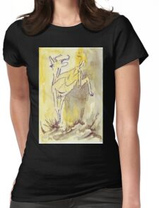 Pronking Womens Fitted T-Shirt