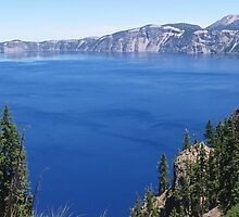 Crater Lake National Park by PaintedSeaStudi