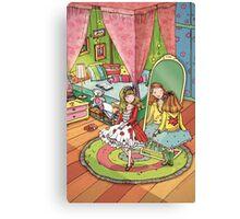 Girls room Canvas Print