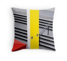 Environmental Abstract Throw Pillow