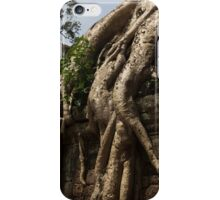 Ta Prohm Banyon Tree Roots iPhone Case/Skin