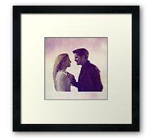 "Captain Swan - ""I love you"" Framed Print"