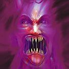 The Demon in my mind haunts me always by stitchgrin