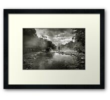 Hotsprings Framed Print