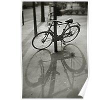 Bicycle in Paris Poster