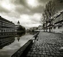 Paris, Quais de la Seine by Laurent Hunziker