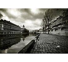 Paris, Quais de la Seine Photographic Print