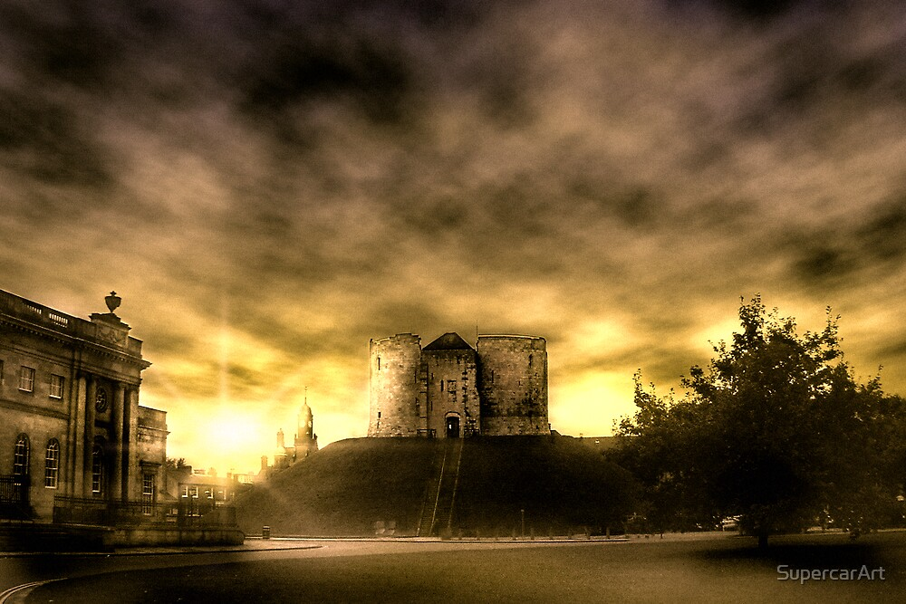 Clifford's Tower, York by SupercarArt