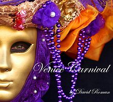 "New Book   ""Venice Carnival"" by DavidROMAN"