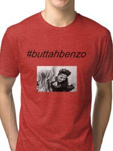 #buttahbenzo - Shay Mitchell and Ashley Benson Tri-blend T-Shirt