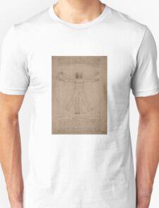 Vitruvian Man -- Leonardo da Vinci T-Shirt