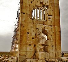 Treasure House - Pasargadae - IRAN by Bryan Freeman