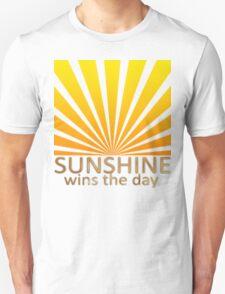Sunshine Wins The Day T-Shirt