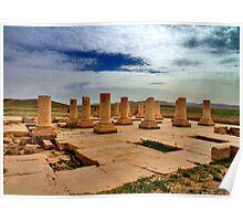 Cyrus' Palace - Pasargadae - IRAN Poster