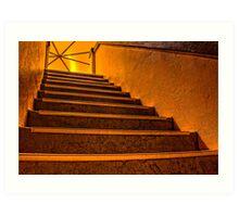 Mordialloc Rotunda Staircase Art Print