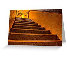 Mordialloc Rotunda Staircase Greeting Card