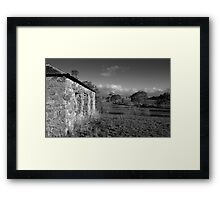 View from the House on the Hill Framed Print
