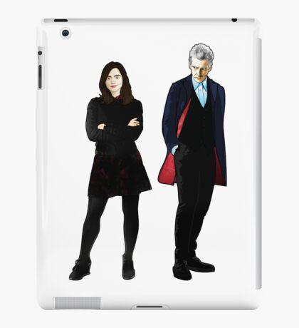 The Doctor and Clara iPad Case/Skin