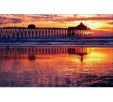 Pacific Sunset California Photographic Print