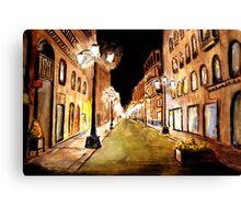 Calle Alphonso Canvas Print