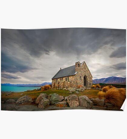 The Church Of Good Shepherd Poster