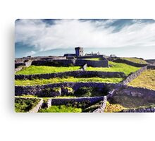 The fort on top of the hill Metal Print