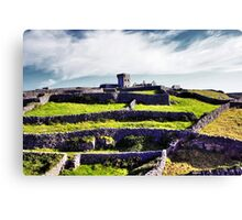 The fort on top of the hill Canvas Print