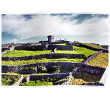 The fort on top of the hill Poster