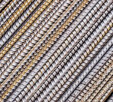 Rebar diagonals by Celeste Mookherjee