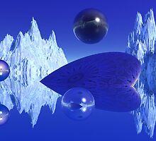 Ice Blue by Lyle Hatch