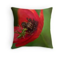 Strike the pose Throw Pillow